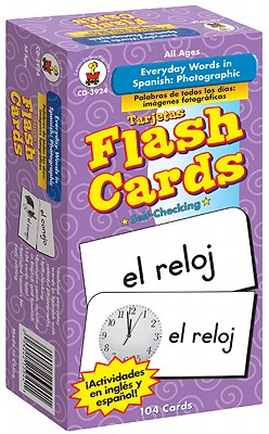 Everyday Words in Spanish By Carson-dellosa Publishing (COR)
